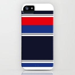Casual Blue iPhone Case