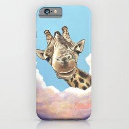 High in the Sky Giraffe iPhone Case