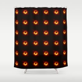 black hole : the first picture 2 Shower Curtain