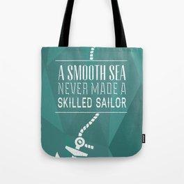 Skilled Sailor Tote Bag