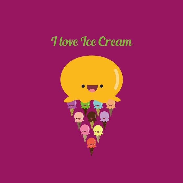 I love Ice Cream! Comforters