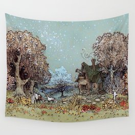 The Gardens of Astronomer Wall Tapestry