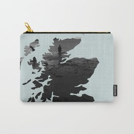 'Wandering' Scotland map Carry-All Pouch