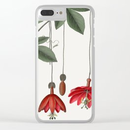 Banana Passionfruit Clear iPhone Case