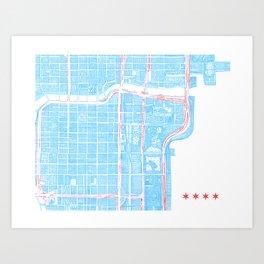 City of Chicago Art Print