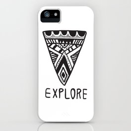 Explore Mindset iPhone Case