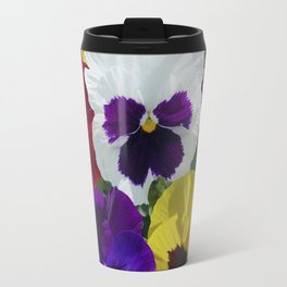 Pansies! Travel Mug