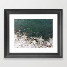 Wave Crash Framed Art Print