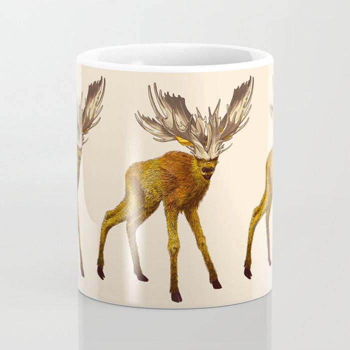 Babes in Woodland (Moose calf) Coffee Mug
