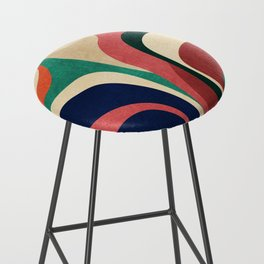 Impossible contour map Bar Stool