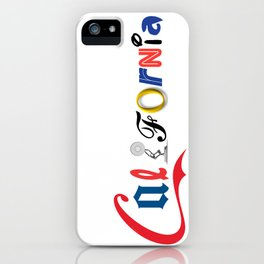Californiality iPhone Case