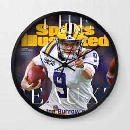 Joe Purple Sports Wall Clock