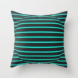 Optical 0.1 Throw Pillow