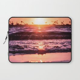 Mission Bay Shoreline in San Diego, California Laptop Sleeve
