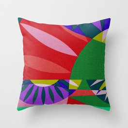 My Psychedelic God Maia Throw Pillow