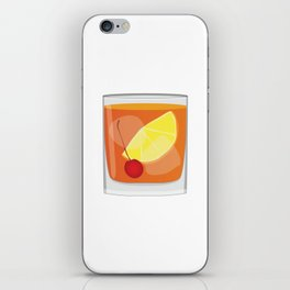 Old Fashioned Cocktail iPhone Skin