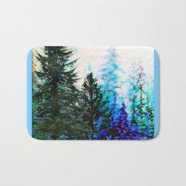 BLUE MOUNTAIN PINES LANDSCAPE Bath Mat