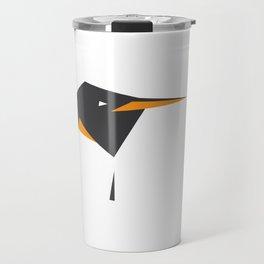 Minimalist Penguin Travel Mug