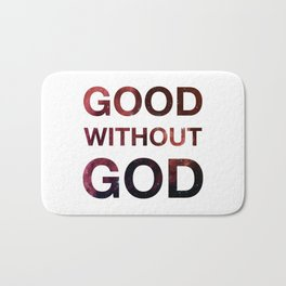 Good without God - Space Bath Mat