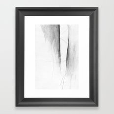 Form Gap Drawing Framed Art Print