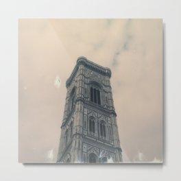 Florence Bell Tower, Santa Maria del Fiore Metal Print