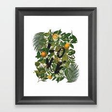 True Love (Oranges) Framed Art Print