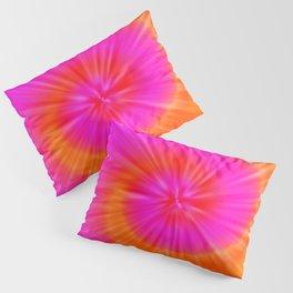 TIE DYE #1 (Fuchsias-Magentas, Reds & Oranges) Pillow Sham