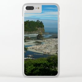 Morning At The Seaside Clear iPhone Case