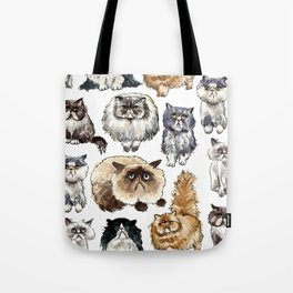 Disappointed Cats Tote Bag