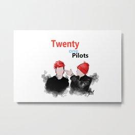 21Pilots Metal Print