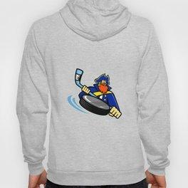 Swashbuckler Ice Hockey Sports Mascot Hoody