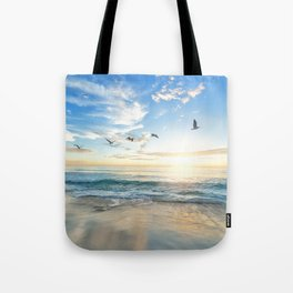 Beach Scene 34 Tote Bag