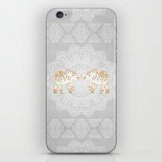 ALHAMBRA ELEPHANT GREY by Monika Strigel iPhone & iPod Skin