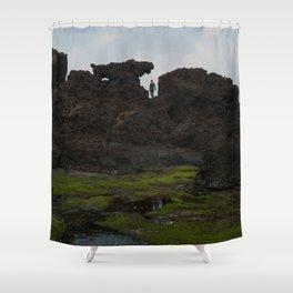 Seongsan ll Shower Curtain