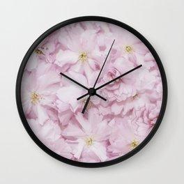 Sakura- Cherry Blossom pattern Wall Clock