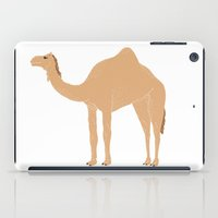 camel iPad Cases featuring Camel by tamara elphick