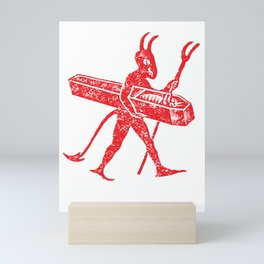 Vintage Little Devil Mini Art Print
