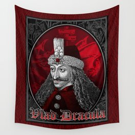 Vlad Dracula Gothic Wall Tapestry