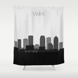 City Skylines: Tampa Shower Curtain