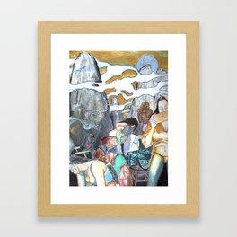 Ho Mountain Framed Art Print