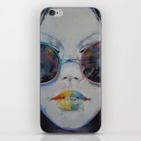 asia iPhone & iPod Skins featuring Asia by Michael Creese