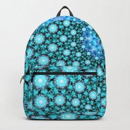 Stellar Cascade Mandala Backpack