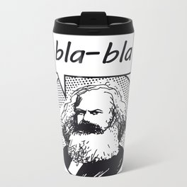 bla-bla Metal Travel Mug
