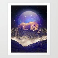 Under the Stars III (Leo) Art Print