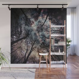 Starry Sky in the Forest Wall Mural