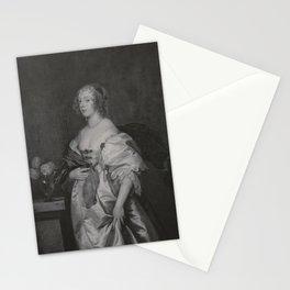 Anthony van Dyck - Alice Bankes, Lady Borlase (1621-1683) Stationery Cards