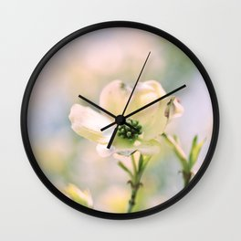Spring Dogwood Wall Clock