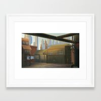 industrial Framed Art Prints featuring Industrial by Toan Nguyen