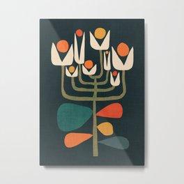 Retro botany Metal Print