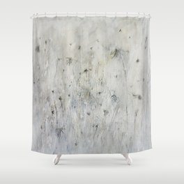 little blue Shower Curtain